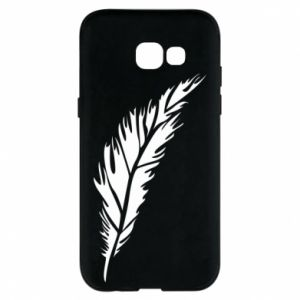 Etui na Samsung A5 2017 Colored feather