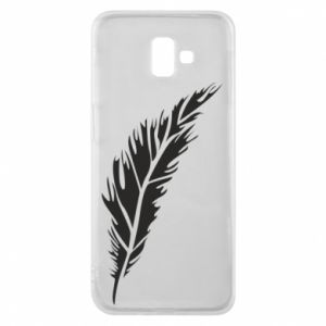 Etui na Samsung J6 Plus 2018 Colored feather