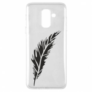 Etui na Samsung A6+ 2018 Colored feather