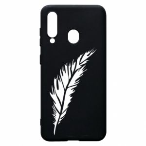 Etui na Samsung A60 Colored feather