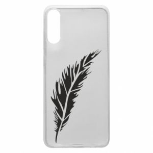 Etui na Samsung A70 Colored feather