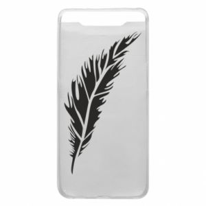 Etui na Samsung A80 Colored feather