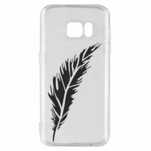 Etui na Samsung S7 Colored feather