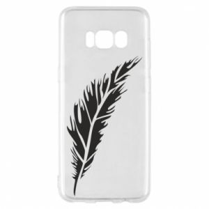 Etui na Samsung S8 Colored feather