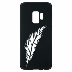 Etui na Samsung S9 Colored feather