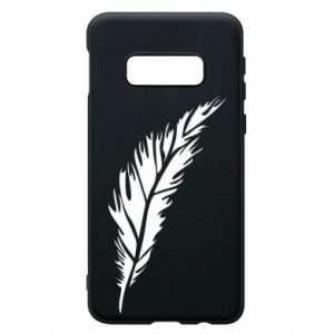 Etui na Samsung S10e Colored feather