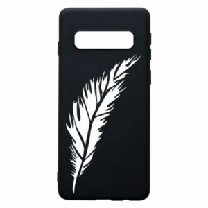 Etui na Samsung S10 Colored feather