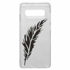 Etui na Samsung S10+ Colored feather