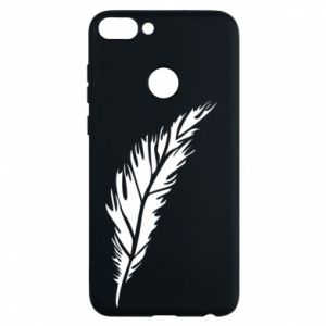 Etui na Huawei P Smart Colored feather