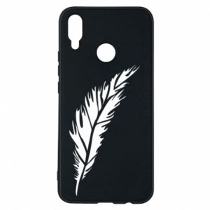 Etui na Huawei P Smart Plus Colored feather