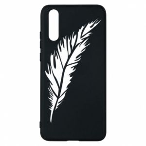 Etui na Huawei P20 Colored feather