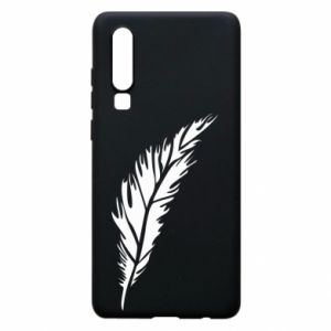 Etui na Huawei P30 Colored feather