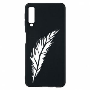 Etui na Samsung A7 2018 Colored feather