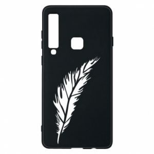 Etui na Samsung A9 2018 Colored feather