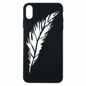 Etui na iPhone Xs Max Colored feather