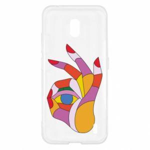 Etui na Nokia 2.2 Colorful hand with eye