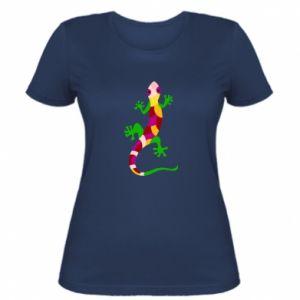 Koszulka damska Colorful lizard