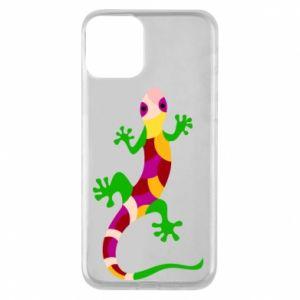 Etui na iPhone 11 Colorful lizard