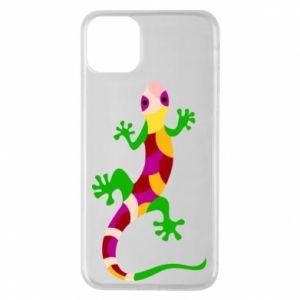 Etui na iPhone 11 Pro Max Colorful lizard