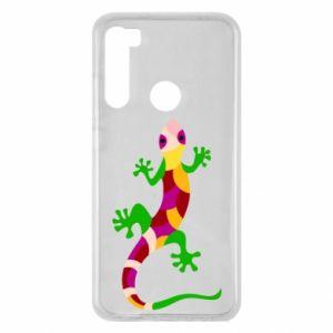 Etui na Xiaomi Redmi Note 8 Colorful lizard