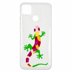 Etui na Xiaomi Redmi 9c Colorful lizard