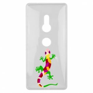Etui na Sony Xperia XZ2 Colorful lizard