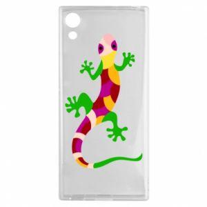 Etui na Sony Xperia XA1 Colorful lizard