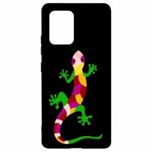 Etui na Samsung S10 Lite Colorful lizard