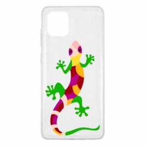 Etui na Samsung Note 10 Lite Colorful lizard