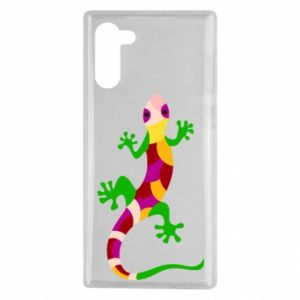 Etui na Samsung Note 10 Colorful lizard