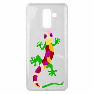 Etui na Samsung J8 2018 Colorful lizard