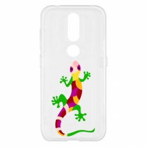 Etui na Nokia 4.2 Colorful lizard