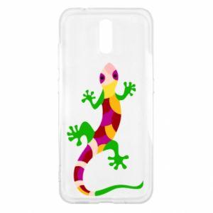 Etui na Nokia 2.3 Colorful lizard