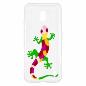Etui na Nokia 2.2 Colorful lizard