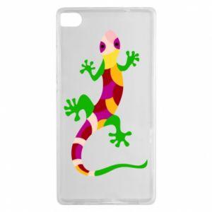Etui na Huawei P8 Colorful lizard