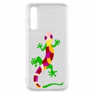 Etui na Huawei P20 Pro Colorful lizard