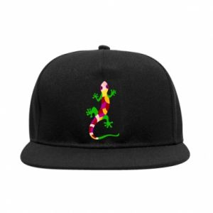 SnapBack Colorful lizard - PrintSalon