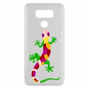 Etui na LG G6 Colorful lizard