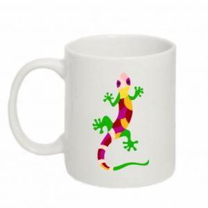 Mug 330ml Colorful lizard - PrintSalon