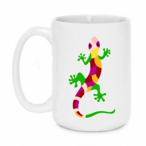 Mug 450ml Colorful lizard - PrintSalon