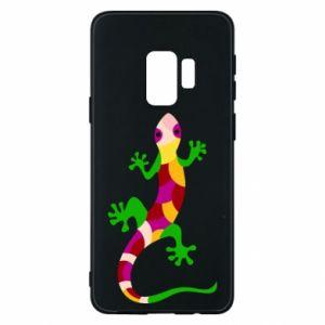 Phone case for Samsung S9 Colorful lizard - PrintSalon