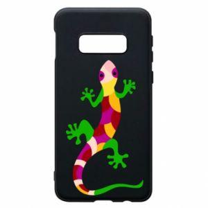 Etui na Samsung S10e Colorful lizard