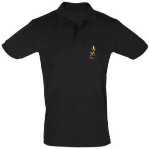 Men's Polo shirt Colorful lizard - PrintSalon