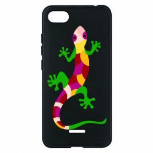 Etui na Xiaomi Redmi 6A Colorful lizard