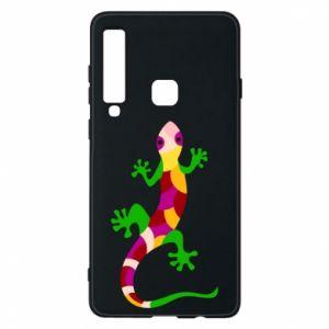 Etui na Samsung A9 2018 Colorful lizard