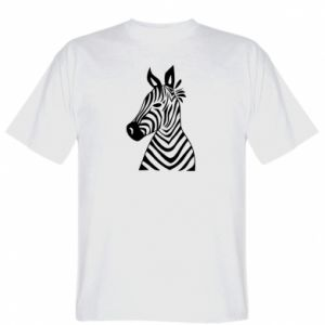 T-shirt Colorful zebra