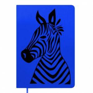 Notes Colorful zebra