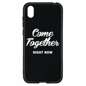 Etui na Huawei Y5 2019 Come together right now