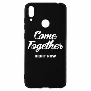 Etui na Huawei Y7 2019 Come together right now