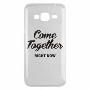 Etui na Samsung J3 2016 Come together right now